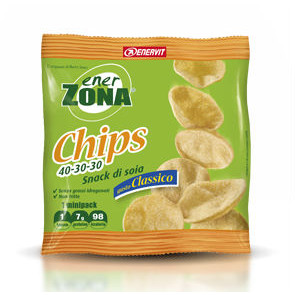 EnerZona Chips 40 30 30 Minipack 1 blocco 25g.