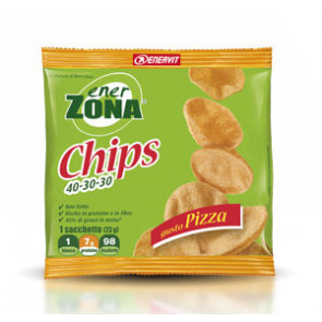 EnerZona Chips 40 30 30 minipack 1 blocco 25g. Gusto Pizza