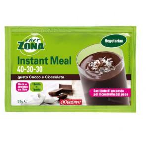 EnerZona Instant Meal 40 30 30 Gusto Cocco e Cioccolato 53g.
