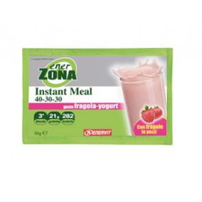 EnerZona Instant Meal 40 30 30 Gusto Yogurt Fragola 50g.