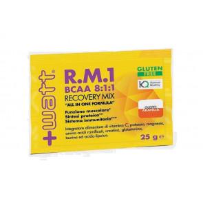 +Watt - RM1 New Formula (Bcaa 8:1:1) Bustine monodose al gusto Arancia