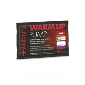 +Watt - Warm Up Pump monodose  25 g. gusto Ribes Nero