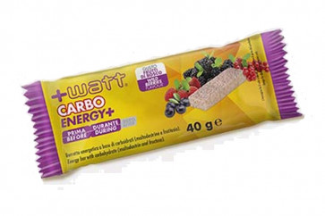 +Watt - Carbo+  Barretta da 40 g