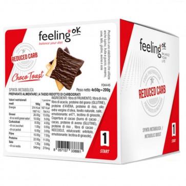 Feeling Ok  Choco Toast START1   4x50g