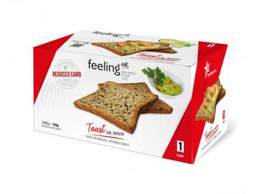 Feeling Ok  Toast START1 oil seeds  2x80g