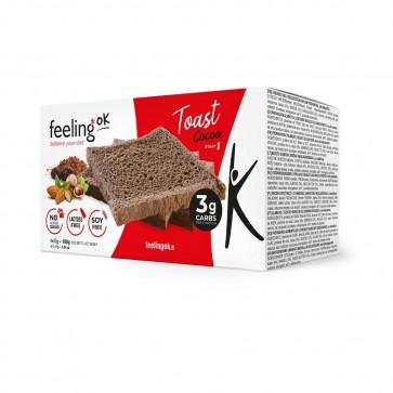 Feeling Ok Toast START1 Cacao box da 2 x 80g = 160g
