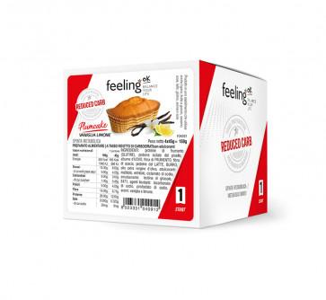 Feeling Ok Plumcake START1 Gusto Vaniglia-Limone Confezione 4 X45 g.=180g