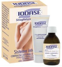 Kit Iodase Smagliature Betaglucano (crema 200 ml +olio di mandorle dolci F.U. 200 ml SCONTO40%