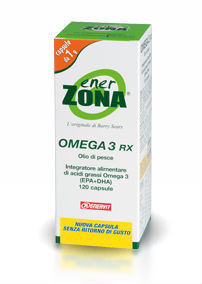 EnerZona Omega 3 RX - 120 perle 1 g ( 0,6 g EPA-DHA)