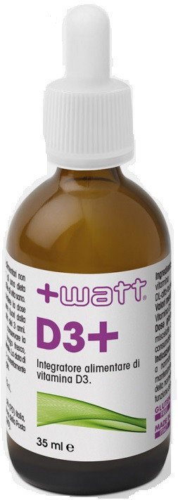+ Watt -  Vitamina D3 -  35ml