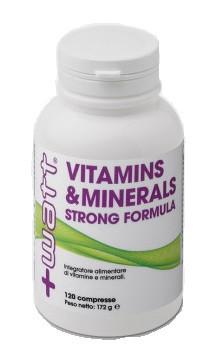 + Watt -  Vitamins&Minerals 120 cpr