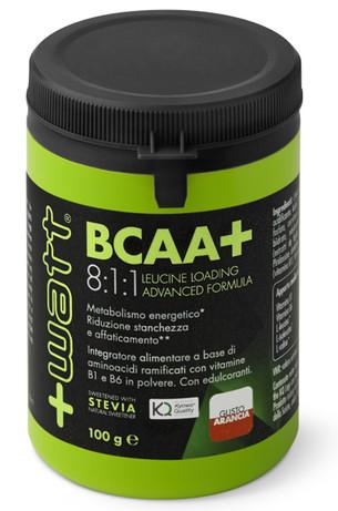 +Watt - BCAA+ 8:1:1 Leucine Loading Advanced Formula 100 g