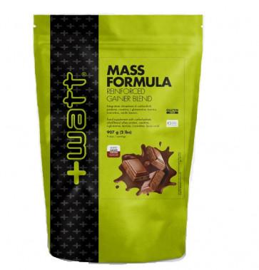 +Watt - Mass Formula Reinforced Gainer Blend - Busta907 g
