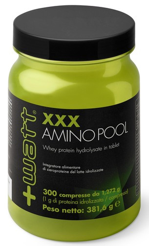 +Watt - XXX Amino Pool ( amminoacidi complessi ) 300 cpr