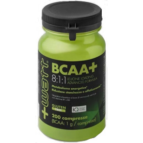 +Watt - BCAA+ 8:1:1 Leucine Loading Advanced Formula 200 cpr
