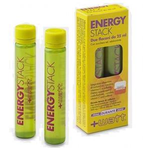 +Watt - Energy Stack - Confezione da 2 fiale gusto Arancia