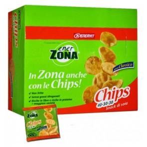 EnerZona Chips 40 30 30 confezione da 14 minipack da 25g.