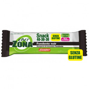 EnerZona Snack 40 30 30 gusto Fondente Noir, 23 g