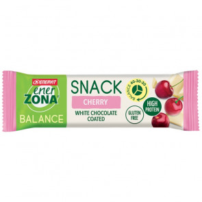 EnerZona Snack 40 30 30 da 33g. Cherry White Chocolate Coated