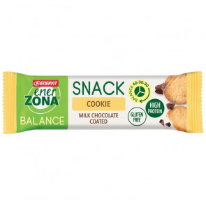 EnerZona Snack 40 30 30 Gusto Cookie Milk Chocolate Coated 33 g