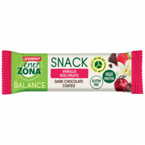EnerZona Snack 40 30 30 Gusto Vanilla Red Fruit 33g