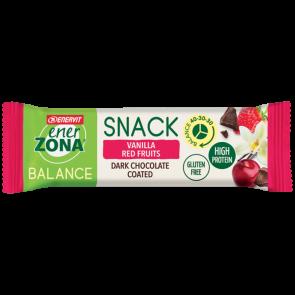 EnerZona Snack 40 30 30 Gusto Vanilla Red Fruit 33g
