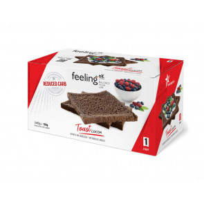Feeling Ok Toast START1 Cacao box da 2 x 80g = 160g