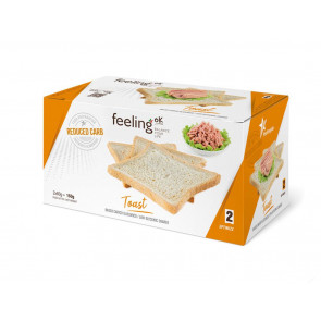 Feeling Ok Toast  Neutro Box da 160g OPTIMIZE 2