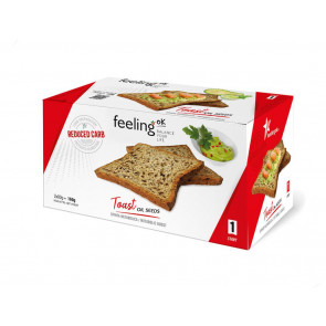 Feeling Ok  Toast START1 oil seeds  2x80g