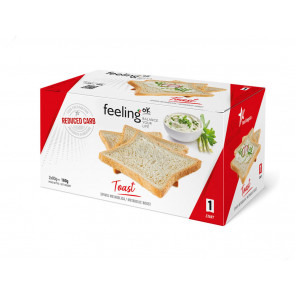 Feeling Ok Toast  Naturale START1 2X80 (160g )