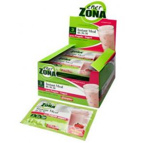 EnerZona Instant Meal 40 30 30 Gusto Yogurt Fragola Box da 20 Buste da 50g.