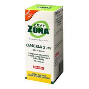 EnerZona Omega 3 RX - 48 perle 1 g ( 0,6 g EPA-DHA)