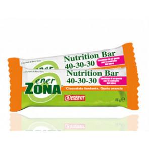 EnerZona Snack 40 30 30 da 25g. Gusto Arancia con cioccolato fondente