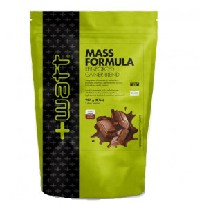 +Watt - Mass Formula Reinforced Gainer Blend - Busta907 g